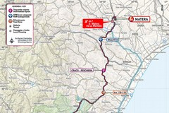 Giro d'Italia: ecco la tappa lucana, l'arrivo a Matera