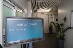 Hub vaccinale presso la sede della Datacontact
