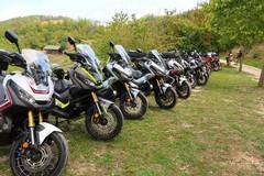 Matera accoglie il raduno ufficiale delle moto Honda X-Adv 750