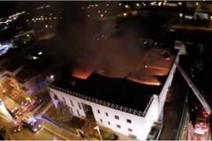 """Capannone della """"Raro"""" distrutto da incendio sarà smantellato"""
