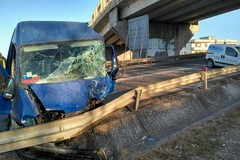 Brutto incidente sulla statale 7