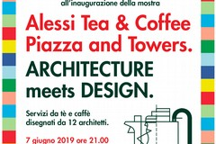 "L'Architettura dialoga con il Design nella mostra ""Alessi Tea & Coffee Piazza and Towers. Architecture meets Design"""