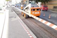 Lunedì riprendono i lavori in via Lucana