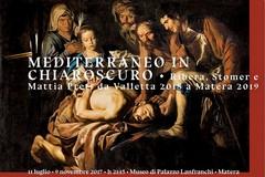 """Apre i battenti la mostra """"Mediterraneo in chiaroscuro.  Ribera, Stomer e Mattia Preti da Valletta 2018 a Matera 2019"""""""