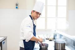 Michele Di Già, giovane promessa della cucina materana