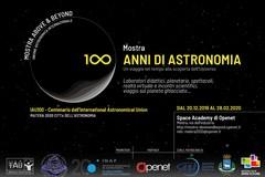 """Con una mostra parte """"Matera, Città dell'astronomia 2020"""""""