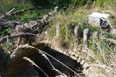 """A rischio crollo il ponte """"romano"""" sulla gravina di Picciano"""
