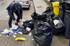 Abbandono dei rifiuti, immagine indecorosa