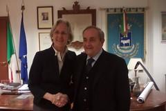 Incontro fra il sindaco De Ruggieri e l'ambasciatore tedesco Susanne Wasum-Rainer in Italia