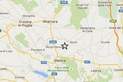 Scossa di terremoto a Matera