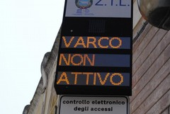 Prolungata la disattivazione della ZTL Prefettura (varco Roma Sud) fino al 31 maggio 2017
