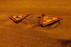 Allarme buche stradali al rione Agna