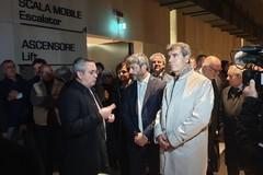 Il presidente della Camera Roberto Fico in visita alle Fal