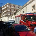 Incendio in via Santo Stefano