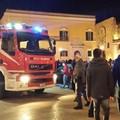 Incendio agli Ipogei, panico in piazza Vittorio Veneto
