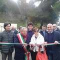 Inaugurata l'area camper in via dei Normanni
