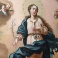 Nel santuario di San Francesco torna la tela dell'Immacolata