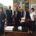 Il sindaco De Ruggieri stringe alleanze con ambasciatori di Turchia e Algeria