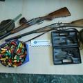 Polizia di Stato, cinque persone denunciate e armi sequestrate