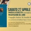 """Al Circolo La Scaletta presentazione del libro """"Orgoglio antico"""" di Amalia Marmo"""