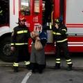 La Befana arriva al Comando dei Vigili del fuoco