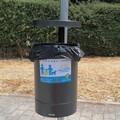Installati nuovi cestini per rifiuti