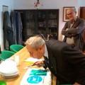 De Ruggieri brinda ai suoi 81 anni