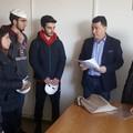 Studenti ricevuti al Comune