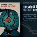 """Con  """"Dante in love  """" di Giuseppe Conte prosegue la rassegna  """"Cercando fra le righe  """" della Fondazione Sassi"""