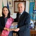 Sviluppo tecnologico, ambasciatrice dell'India in visita a Matera