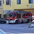 Incendio in via Cilea, due donne in Ospedale