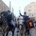 Per le strade di Matera la Polizia a cavallo