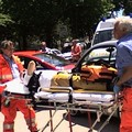 Incidente stradale in via Dante