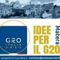 """Il Comune lancia """"Idee per il G20"""""""