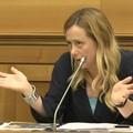 Giorgia Meloni a Matera, parole dure sulle infrastrutture
