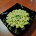 """Ricetta Salata """"Chicche di patate"""". Gnocchetti con piselli e seppie"""