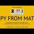 """Happy from Matera "", mancano poche ore"
