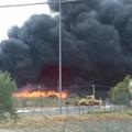 Incendio discarica, Arpab verifica inquinamento