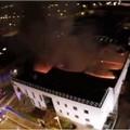 """Capannone della  """"Raro """" distrutto da incendio sarà smantellato"""