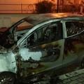 Due incendi a Matera