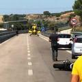 Incidente sulla statale 99 Matera-Altamura, grave un motociclista