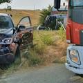 Incidente sulla strada Matera Santeramo, un ferito