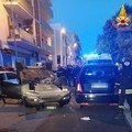 Incidente in via San Pardo, due feriti
