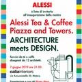 """L'Architettura dialoga con il Design nella mostra """"Alessi Tea & Coffee Piazza and Towers. Architecture meets Design"""""""