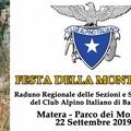 """Domenica 22 settembre """"Festa della montagna"""" al Parco dei Monaci"""
