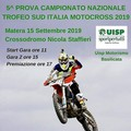 Motocross Uisp, tappa del campionato nazionale a Matera