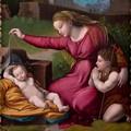 Un quadro di Raffaelo Sanzio in esposizione a Matera