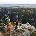 Settimana escursionistica nazionale in Basilicata, organizzatori al lavoro