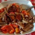 "Ricetta Salata  ""Penne integrali al Betacarotene """
