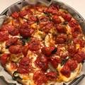 "Ricetta Salata ""Pizza Margherita di Pane"""